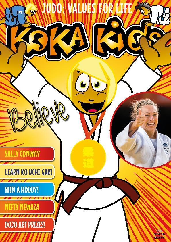 Koka Kids Judo Magazine Sally Conway