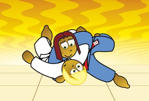 Kesa-Gatame Judo Hold