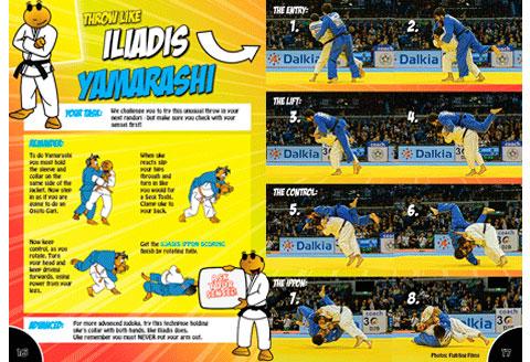 Iliadis Ippon Focus On Yamarashi Judo Books By Koka Kids