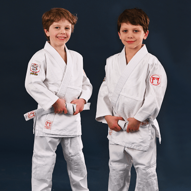 children's judo suit by Koka Kids and Fighting Films