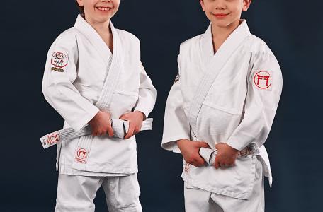 children's judo suit by Koka Kids and Fighting Films
