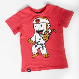 red judo tshirt