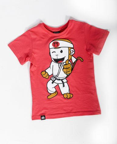 red judo tshirt
