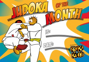 Judoka of the Month & Week