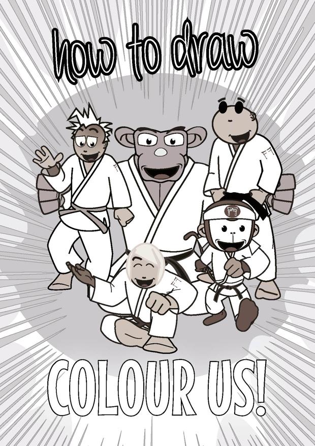 Dojo Art Gallery book by Koka Kids