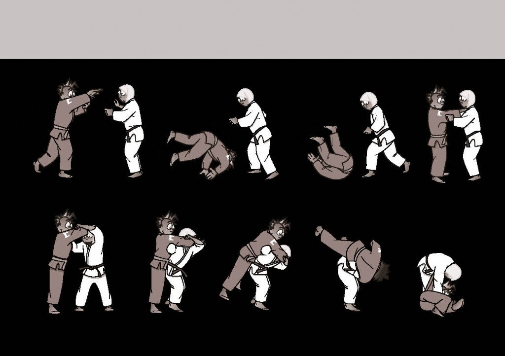 judo drill for movement