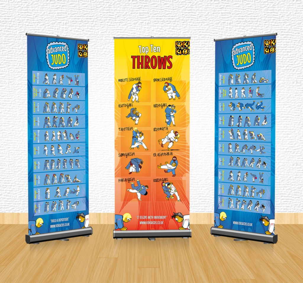 judo banners