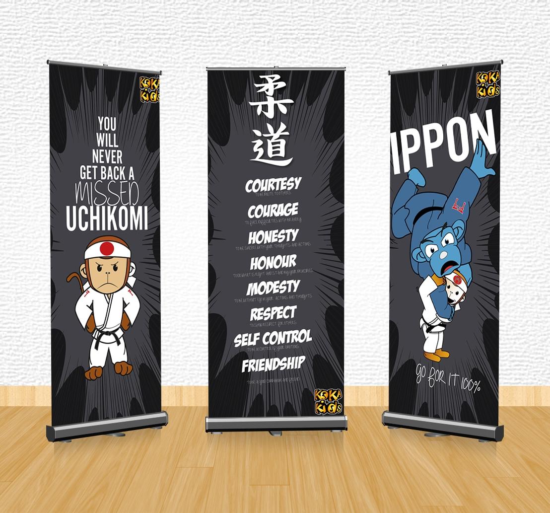judo banner