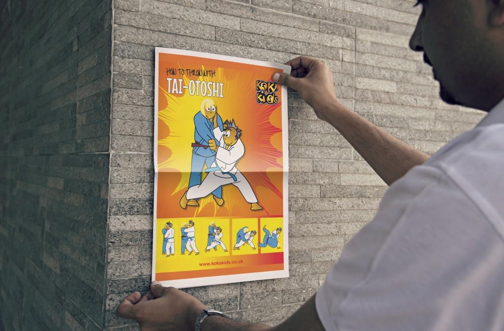 judo lesson poster