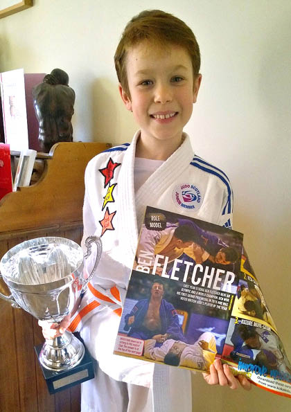 Judo Kid inspired by role model Ben Fletcher