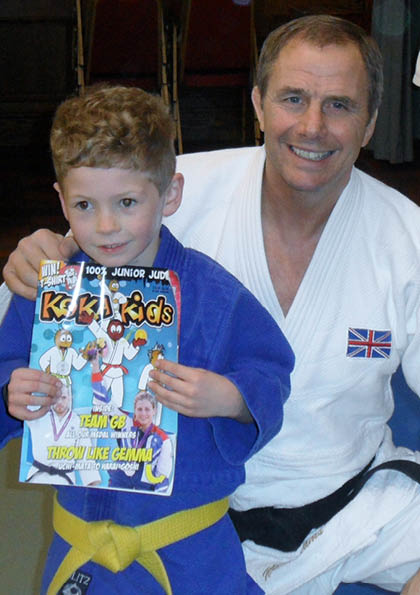judo kids are inspired by judo champions