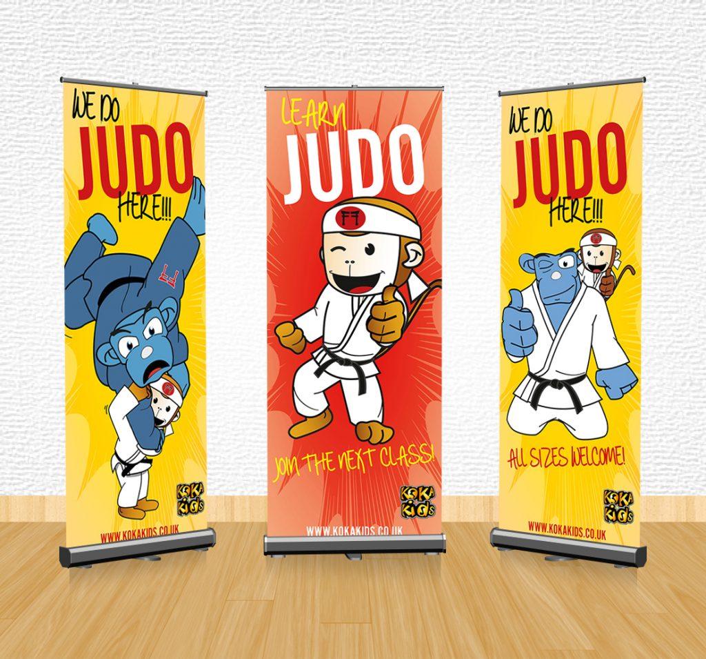 Judo advertising