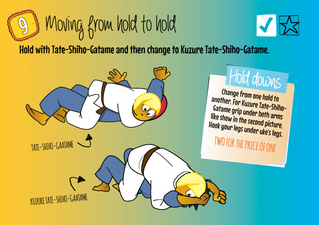 Games and Drills for Judo