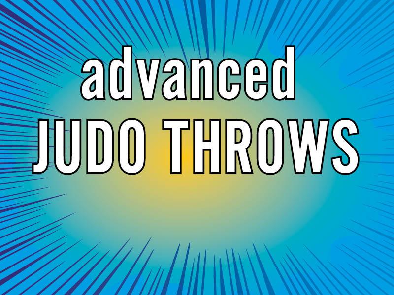 judo throws for advanced judoka