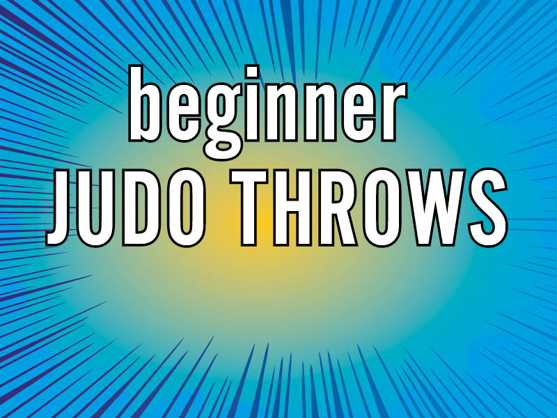 beginner judo throws