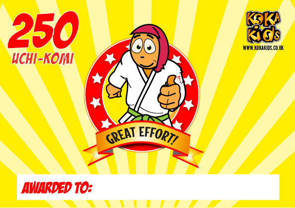 250 judo uchi komi challenge by koka kids