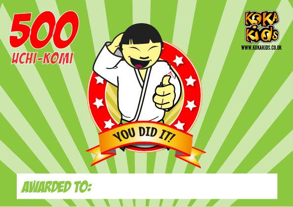 500 judo uchi-komi