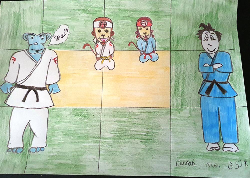 Dojo Art Gallery drawing