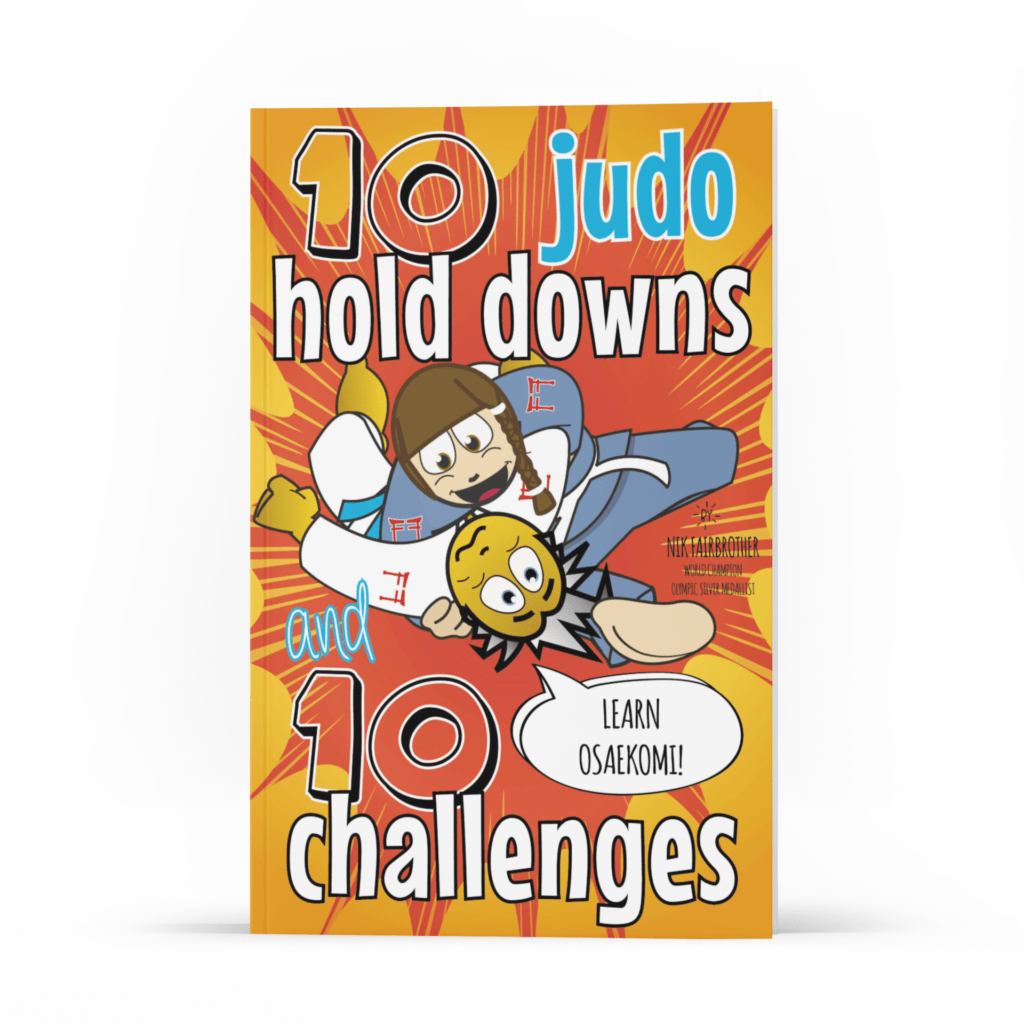 judo books to help kids learn holds