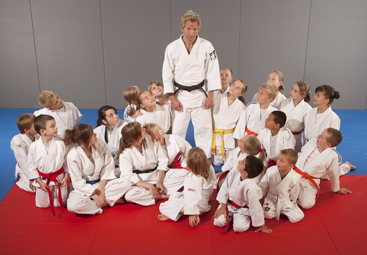 visuals help to teach judo