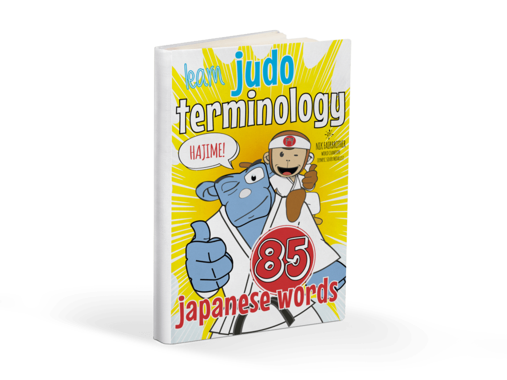Judo Words Book by Koka Kids