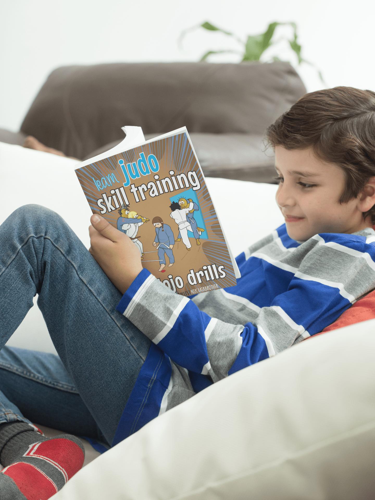 judoka reading koka kids judo book