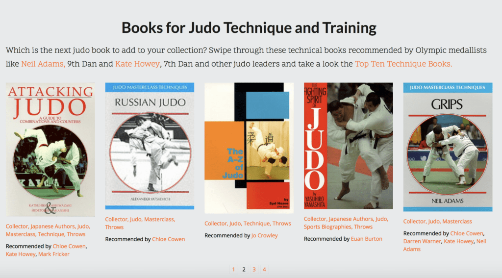Best Judo Books