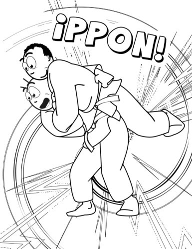 Ippon throw by Koka Kids
