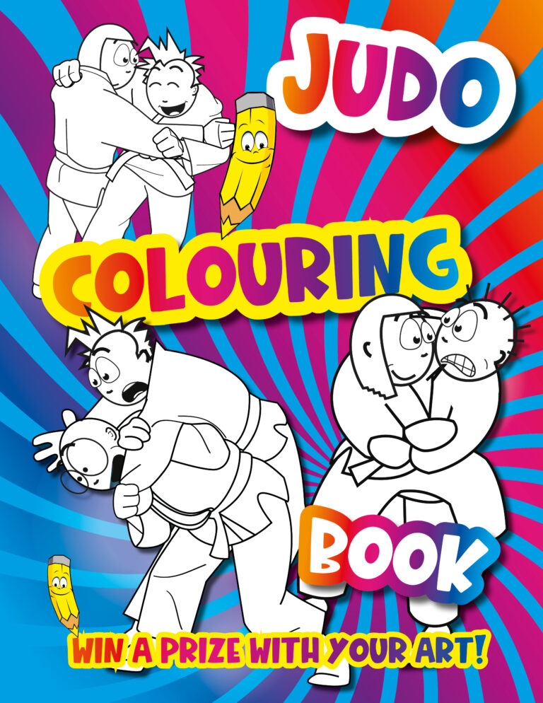 Judo Colouring Book