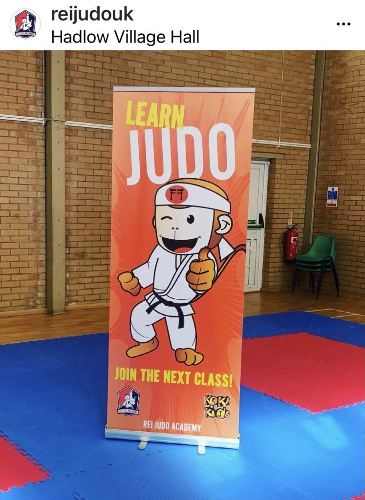 Learn Judo Roller Banner