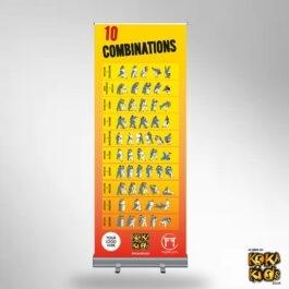 10 Combinations Judo Banner