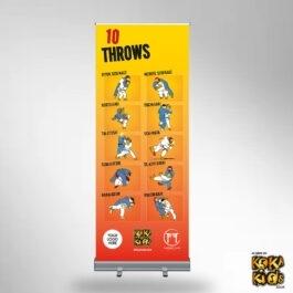 10 Judo Throws Banner