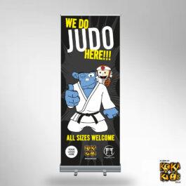 Judo Banner to make everyone feel welcome