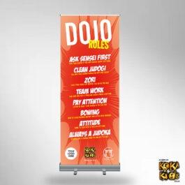 Dojo Rules Banner